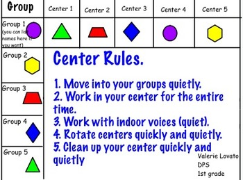 Centers Rotation Grid