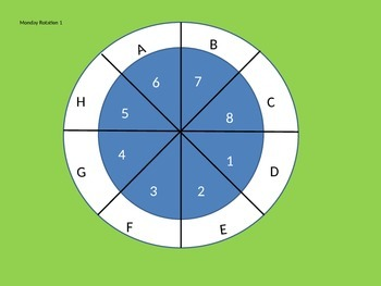 Centers Rotation Timer - 20 minutes
