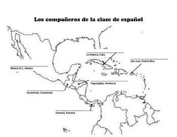 Central America Partner Map