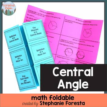 Central Angle Foldable