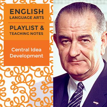 Central Idea Development