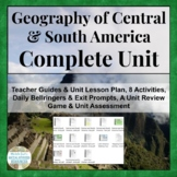 Central and South America Complete Unit Geography of Latin