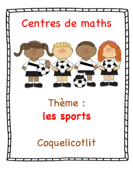 Centres de maths : les sports.