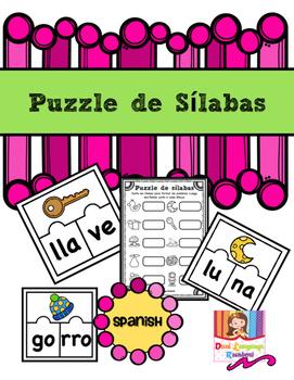 Centro de Palabras in Spanish (Sílabas)