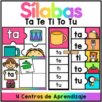 Centro de Silabas - ta te ti to tu / SPANISH CENTER