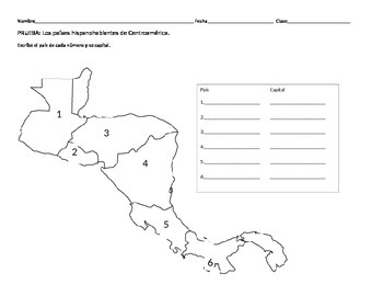 Centroamérica: Central America Geography Quiz