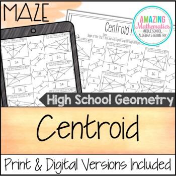 Centroid Maze