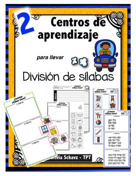 """Centros de aprendizaje en español """"PARA LLEVAR"""" - División"""