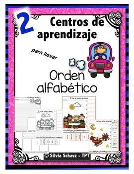 """Centros de aprendizaje en español """"PARA LLEVAR"""" - Orden al"""