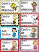 Centros de lecto-escritura, Etiquetas.