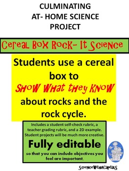 Cereal Box Rock-It Science