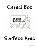 Cereal Box Surface Area Project