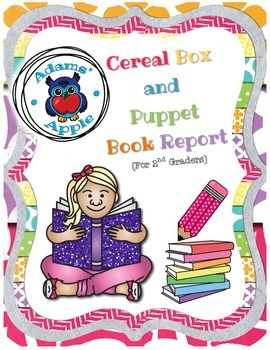Cereal Box and Puppet Book Report