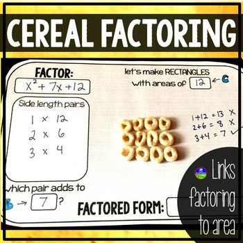 Cereal Factoring Mat