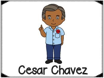 Cesar Chavez Graphic Organizers