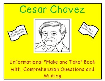 Cesar Chavez Make and Take Informational Book