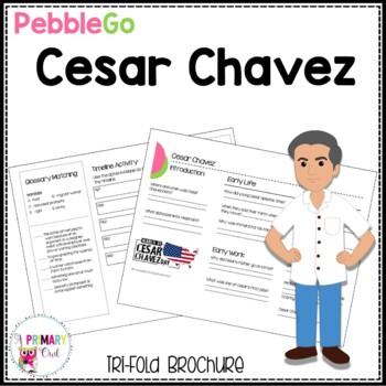 Cesar Chavez Pebble Go research brochure
