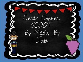 Cesar Chavez Scoot- Great for GA Milestone!