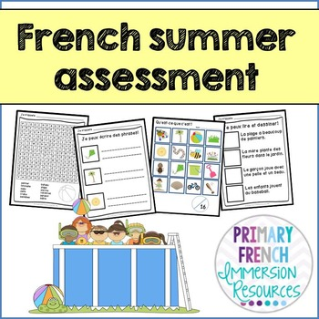 C'est l'ete - Reading, Writing, & Assessment for early FI