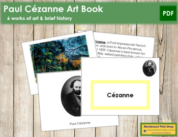 Cezanne (Paul) Art Book - Color Border