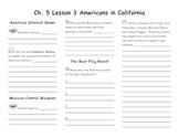 Ch. 5 Lesson 3 Americans in California