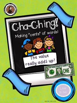 Cha-Ching Words! Spelling & Math Activity