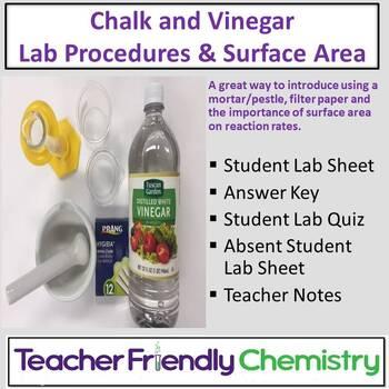 Chemistry Lab: Chalk and Vinegar Lab