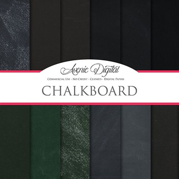 Chalkboard Background Textures Digital Paper scrapbook bac