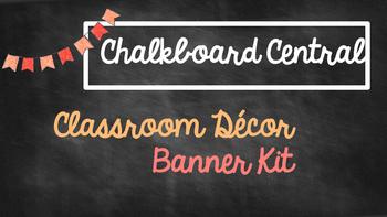 Chalkboard Banners Theme Kit