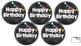 Chalkboard Birthday Tags