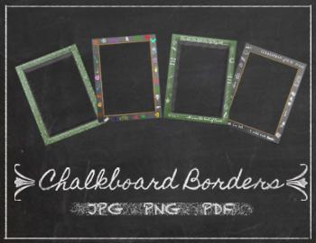 Chalkboard Borders