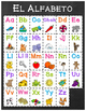 Chalkboard & Brights ABC Posters - SPANISH