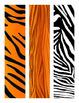 Safari/Jungle Bulletin Board Border - Rectangular