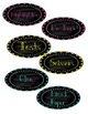 Chalkboard Classroom Supply Labels