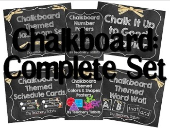 Chalkboard Classroom: The Complete Set