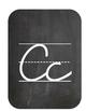 Chalkboard Cursive Letters-large