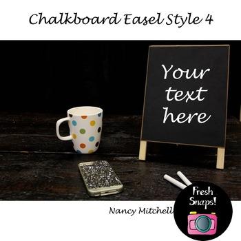 Chalkboard Easel Style 4