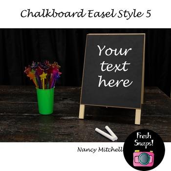 Chalkboard Easel Style 5