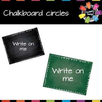 Chalkboard Labels [Back to School]