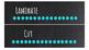 Chalkboard Bright Labels for 10-Drawer Organizer (Aqua Dots)
