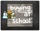Chalkboard Lunch Choice Chart