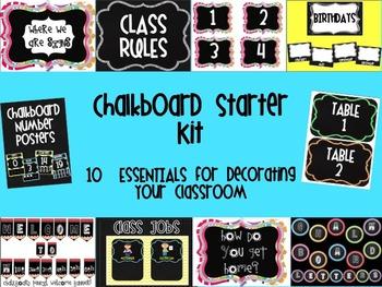 Chalkboard Starter Kit