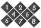 Chalkboard Theme Classroom Number Set