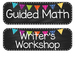 Chalkboard and Bright Bunting Schdeule Cards