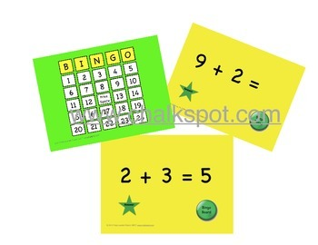 Addition Bingo, Plus 2: Power Point (CCSS Aligned)