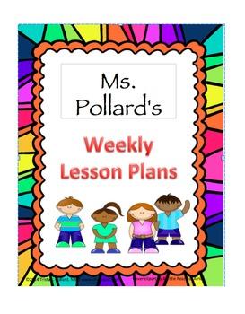 Free Editable Lesson Plan Template: Portrait