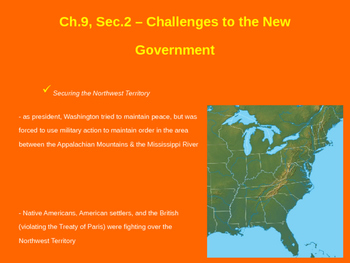 Challenges to the New Government - Fallen Timbers & Whiske