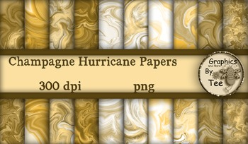 Champagne Hurricane Papers