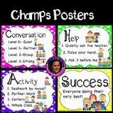Champs Posters Rainbow Theme