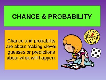 Chance & Probability- An Introduction